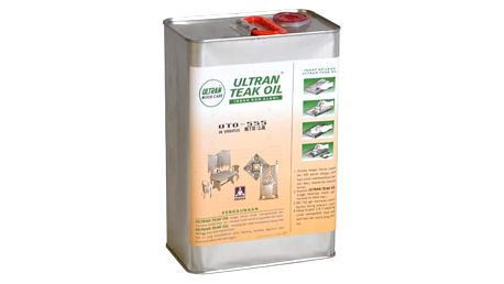 Garthen 2144 Pečující týkový olej na dřevo - 3,8 l
