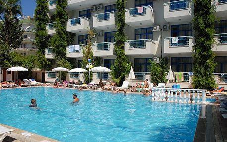 Turecko - Alanya na 8 dní, all inclusive s dopravou letecky z Brna nebo Prahy 50 m od pláže