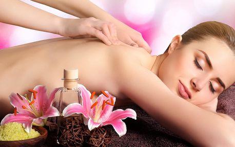 60 min. zdravotní nebo relaxační masáže