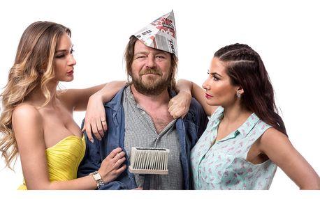 Vstupenka na divadelní představení Natěrač
