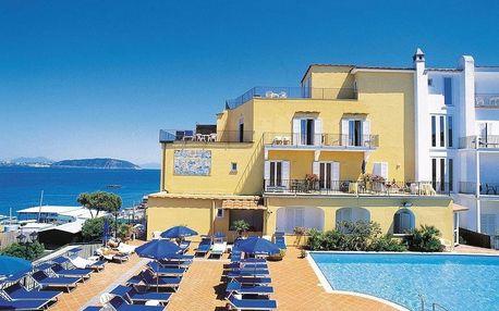 Itálie - Ischia na 8 dní, plná penze nebo polopenze s dopravou letecky z Prahy