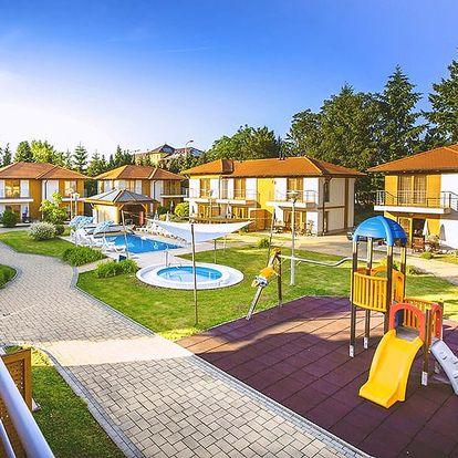 Maďarský Zalakaros: podzim i zima v perfektně vybaveném apartmánu s polopenzí