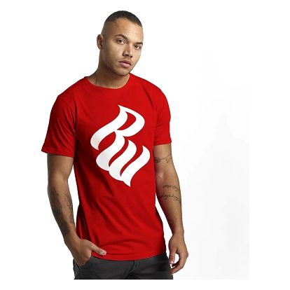Rocawear / T-Shirt Logo in red L