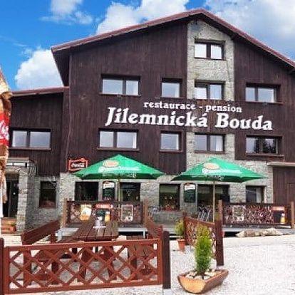 3–6denní pobyt s polopenzí v penzionu Jilemnická Bouda v Krkonoších pro 2 osoby