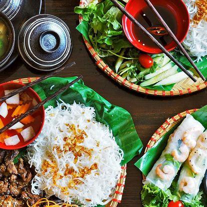 Autentické vietnamské menu dle výběru pro 2 os.