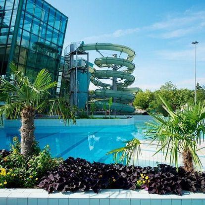 Maďarsko v Portobello Wellness & Yacht Hotelu přímo propojeném s aquaparkem