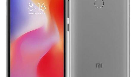 Mobilní telefon Xiaomi Redmi 6 Dual SIM 32 GB (19006) šedý Software F-Secure SAFE, 3 zařízení / 6 měsíců v hodnotě 979 Kč + DOPRAVA ZDARMA