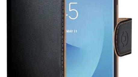 Pouzdro na mobil flipové Celly Wally pro Samsung Galaxy J5 (2017) černé (WALLY665)