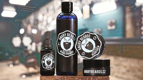 Kosmetika pro vousáče: šampon, oleje i balzám