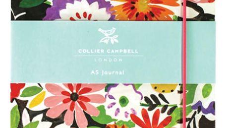 Linkovaný deník Collier Campbell by Portico Designs,100stránek