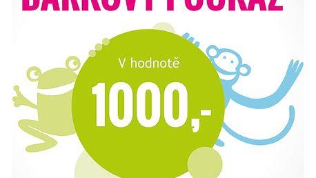 FEEDO Dárkový poukaz v hodnotě 1.000 Kč