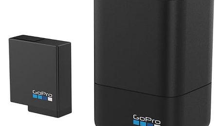 Nabíječka GoPro pro HERO 5 Black / HERO 6 + baterie černá (AADBD-001)