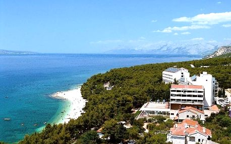 Chorvatsko - Makarská riviéra na 10 až 14 dní, plná penze nebo polopenze s dopravou autobusem 100 m od pláže