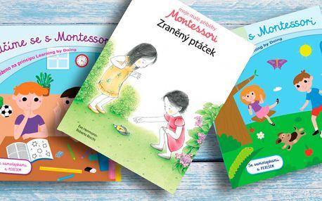 Dětské knížky založené na principu Montessori