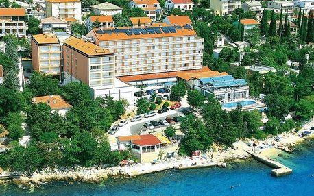 Chorvatsko - Crikvenica na 10 až 17 dní, polopenze s nápoji s dopravou autobusem 100 m od pláže