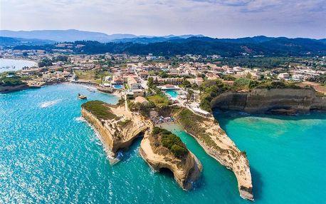Řecko - Korfu na 14 dní, bez stravy s dopravou autobusem 350 m od pláže