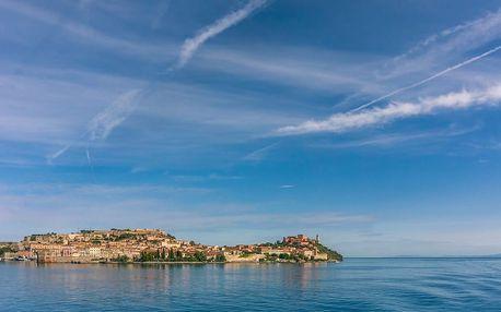 6denní Toskánsko (Florencie a Pisa), Napoleonova Elba s koupáním v moři