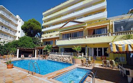 Španělsko - Mallorca na 8 až 9 dní, polopenze s dopravou letecky z Brna nebo Prahy 600 m od pláže