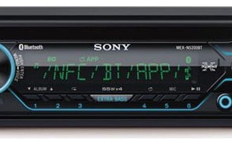 Autorádio s CD Sony MEX-N5200BT černé