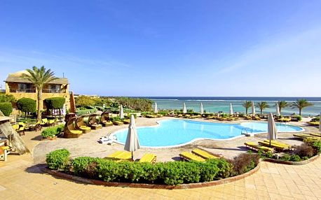 Egypt - Marsa Alam na 8 dní, all inclusive nebo polopenze s dopravou letecky z Prahy přímo na pláži