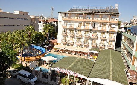 Turecko - Side na 8 až 12 dní, all inclusive s dopravou letecky z Brna nebo Prahy 60 m od pláže