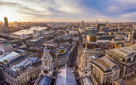 Londýn a okolí - Oxford a Stonehenge, 5denní zájezd s ubytováním v hotelu (2 noci)