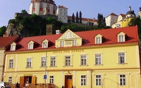 Pobyt s polopenzí pro 1 osobu na 3 dny v Hotelu Pod Zámkem***.