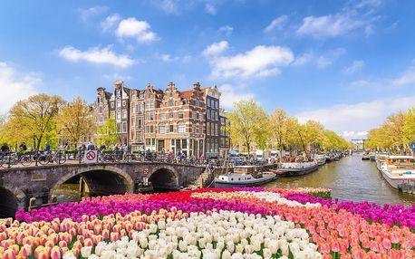 Amsterdam a okolí v 5ti dnech, 2 noci v hotelu se snídaní