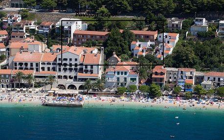 Chorvatsko - Podgora na 10 až 17 dní, polopenze s dopravou autobusem 80 m od pláže