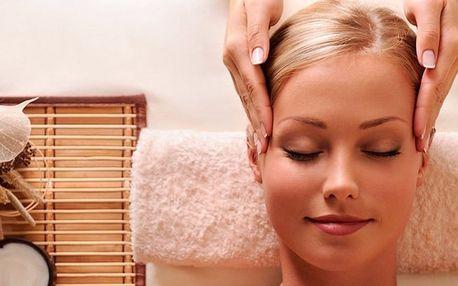 Indická antistresová masáž hlavy v délce až 60 minut