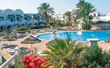 Tunisko - Djerba na 8 až 15 dní, all inclusive s dopravou letecky z Prahy nebo Ostravy 300 m od pláže