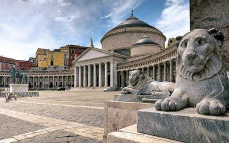 Skvosty jižní Itálie s výstupem na Vesuv a návštěvou Neapole, Capri a