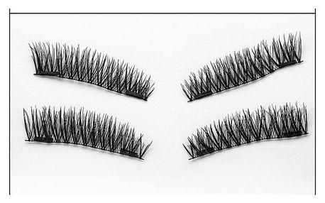 3D magnetické řasy - 4 typy