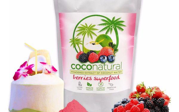 Instantní kokosová voda Coconatural: červené bobule, ananas s matchou i natural2