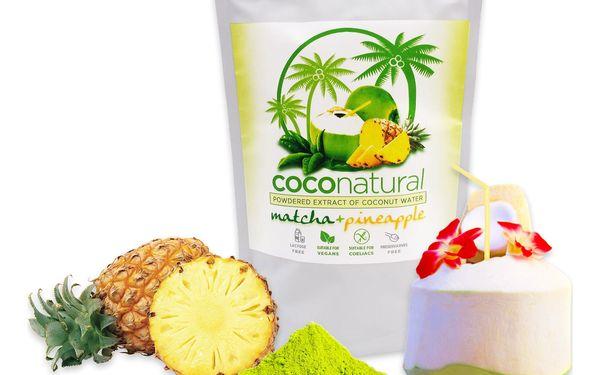 Instantní kokosová voda Coconatural: červené bobule, ananas s matchou i natural4