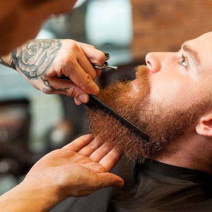 Jen pro pány: Střih nebo holení v barbershopu