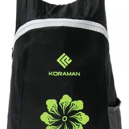 Voděodolný skládací batoh s motivem květiny - 5 barev