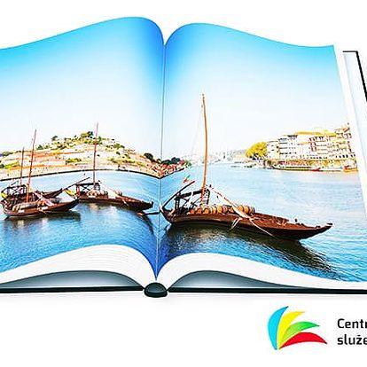 Exkluzivní šitá fotokniha ve formátu A4 s různým počtem stran