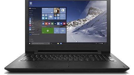 Notebook Lenovo IdeaPad 110-15IBR černý + dárek (80T700LMCK)