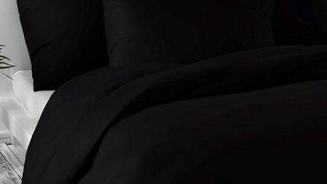 Kvalitex Saténové povlečení Luxury Collection černá