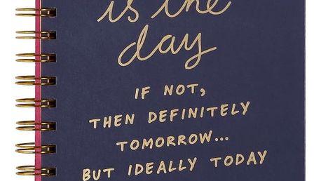 Zápisník npw™ Today Is The Day