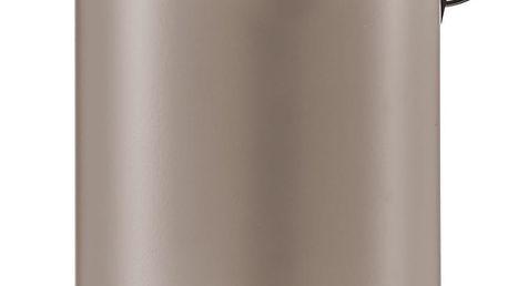 Koupelnový koš, odpadkový koš - 3 l, hnědá, mat, ZELLER