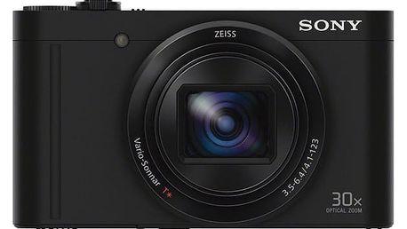 Digitální fotoaparát Sony Cyber-shot DSC-WX500 černý (DSCWX500B.CE3)