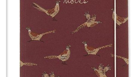 Zápisník A5 Go Stationery Woodland Pheasant