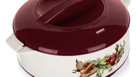 Banquet Termohrnec s poklicí 3,5L zelenina, 3,5 l