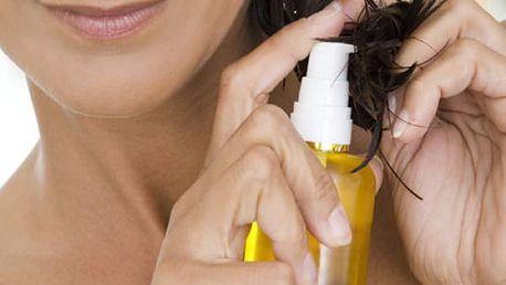 Přírodní olej z kopřivy na vlasy s extraktem lopuchu, heřmánku a sibiřského cedru