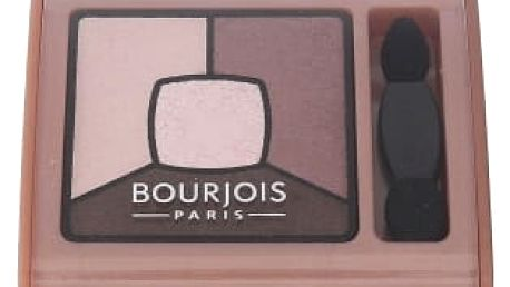 BOURJOIS Paris Smoky Stories Quad Eyeshadow Palette 3,2 g oční stín pro ženy 02 Over Rose