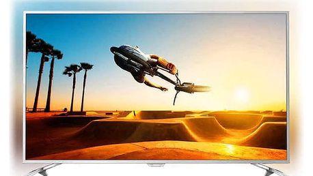 Televize Philips 49PUS7272 stříbrná