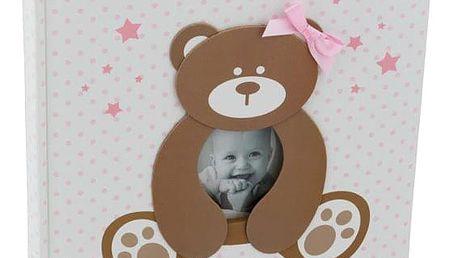 KARPEX Exkluzivní dětské samolepící fotoalbum 24x29/40s SWEETY, Růžové