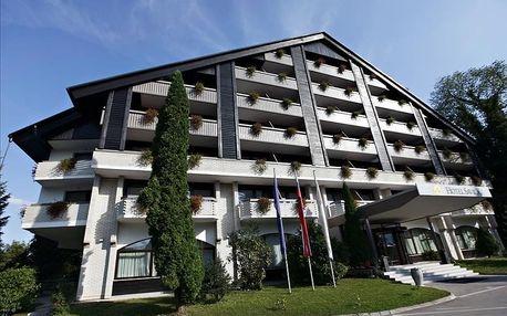 Slovinsko - Bled na 2 až 5 dní, polopenze s dopravou vlastní 50 m od pláže